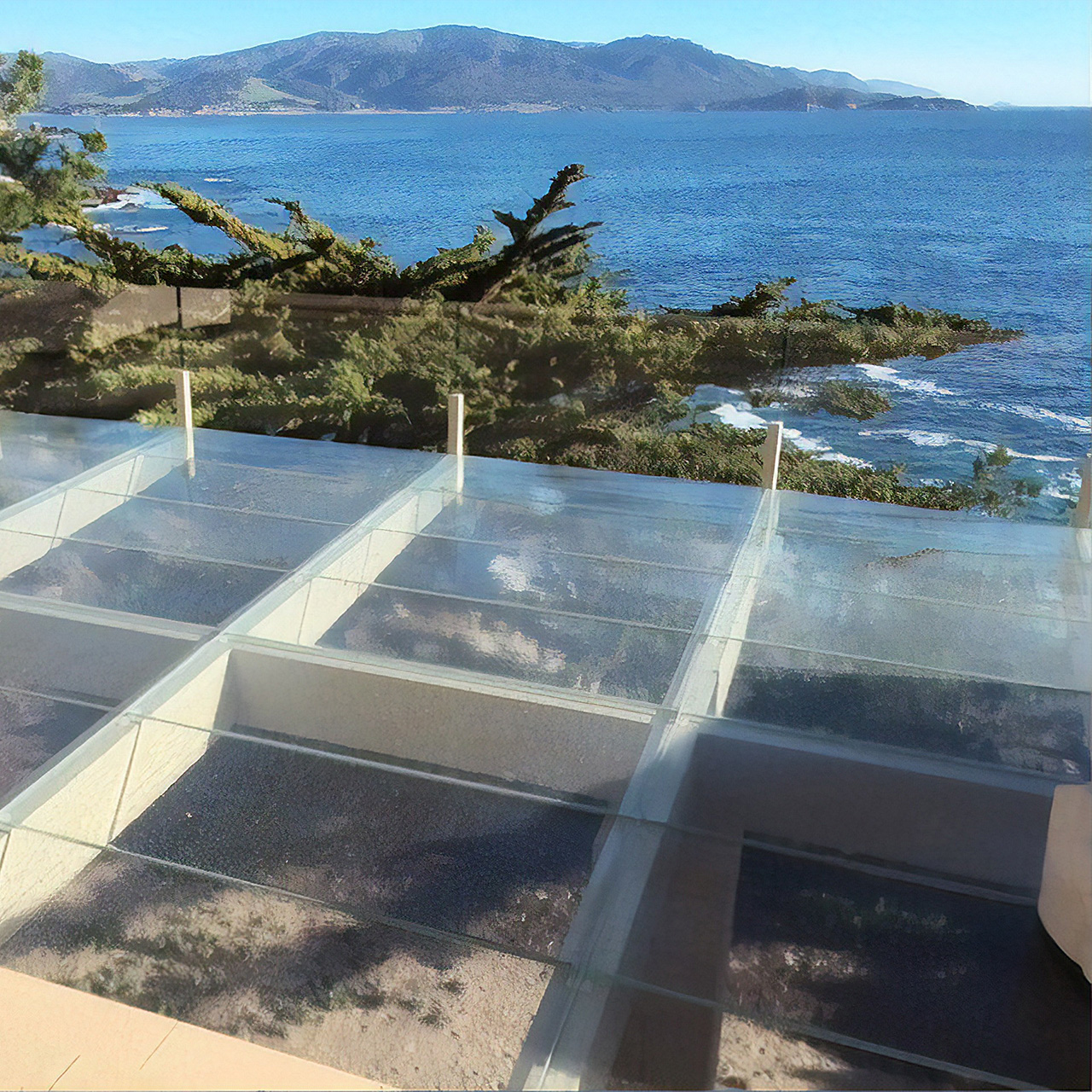 Exterior Glass Flooring